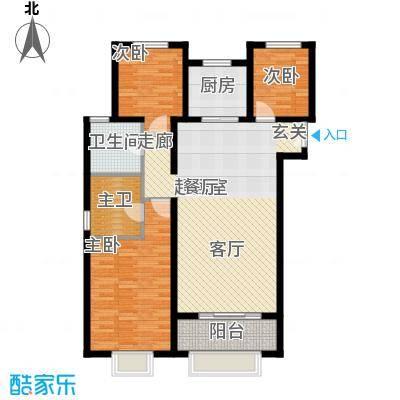 丹东万达广场A1-21号楼-D3户型