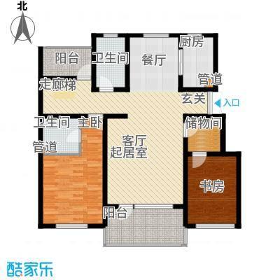 恒景溪山壹號恒景・溪山壹�洋房-B-6层户型