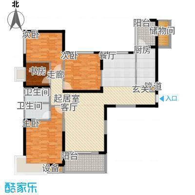 盘锦恒大华府3-4号楼174户型