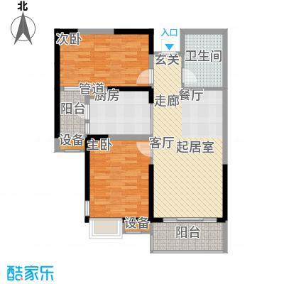 盘锦恒大华府3-4号楼101户型