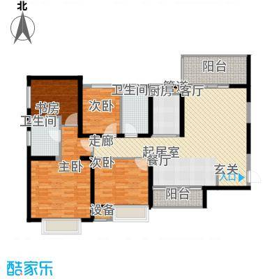 盘锦恒大华府11-15号楼155户型