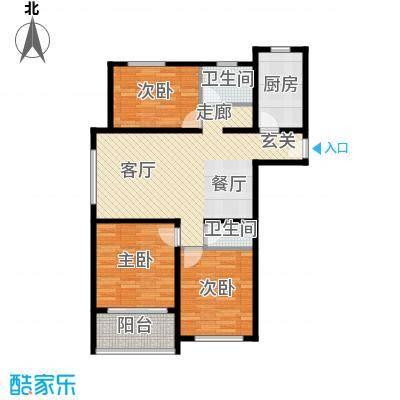 中鹤国际美景福居C户型