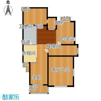 洛阳碧桂园一期G216二层户型