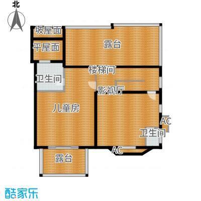 洛阳碧桂园一期G215三层户型
