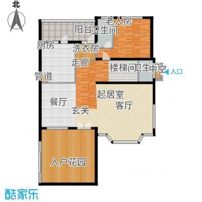 洛阳碧桂园一期G215一层户型