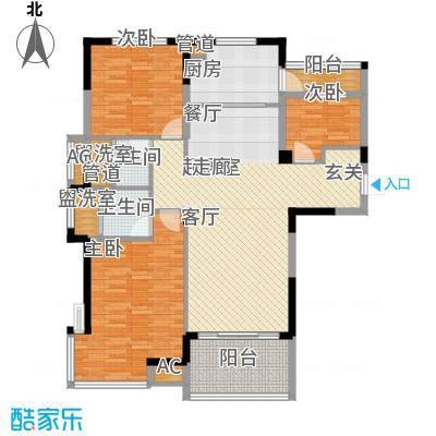 洛阳碧桂园一期J571-A户型