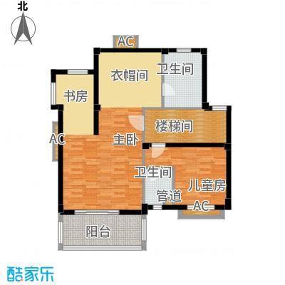 洛阳碧桂园一期G171二层户型