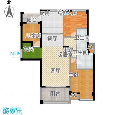 洛阳碧桂园一期G571-C户型