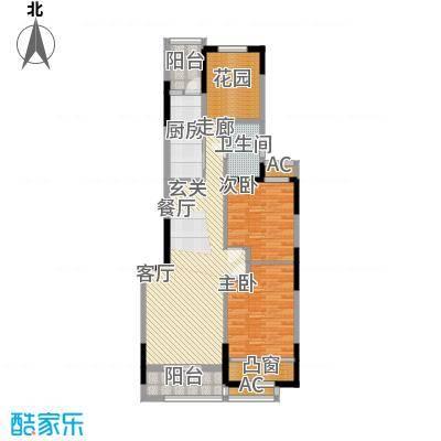 天明城二期5号楼多层A户型