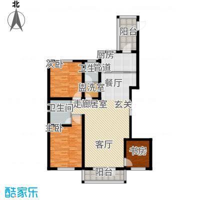 华海城E1户型