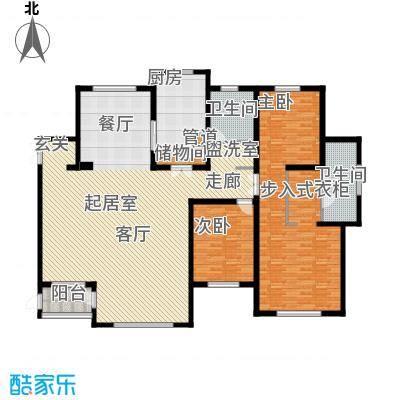 华海城H1户型