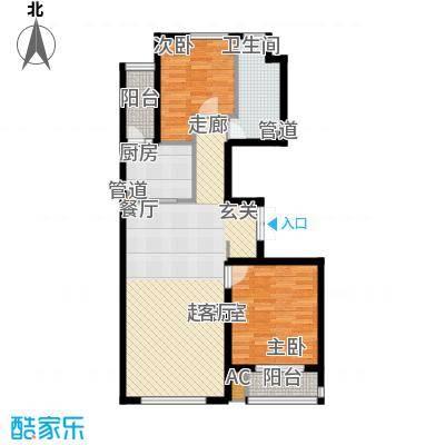 龙港花园92.60㎡926高层户型