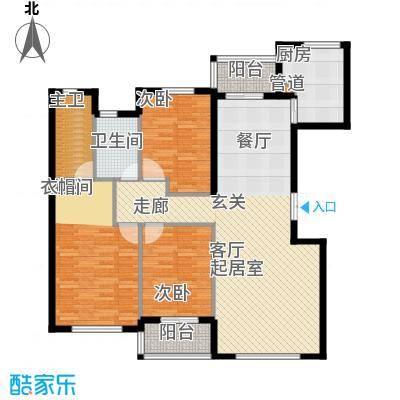 龙港花园140.90㎡1409户型