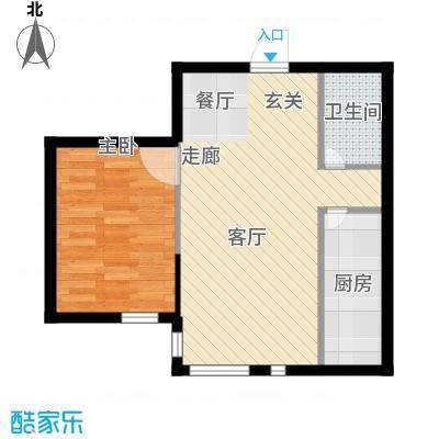 鑫鼎广场61.99㎡鑫鼎・广场J19[M9~OPO(U}{}XADVFS7B户型