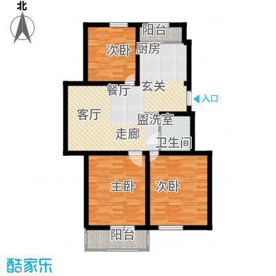 鑫鼎广场97.56㎡鑫鼎・广场C~KOU4}TQGU}JP0)I_6(46M户型