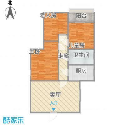 兰轩阁三房两厅100平