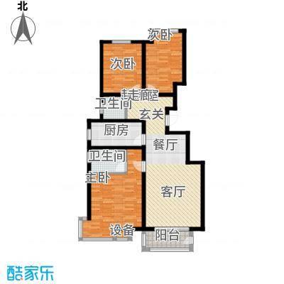 宏宇城C5a户型