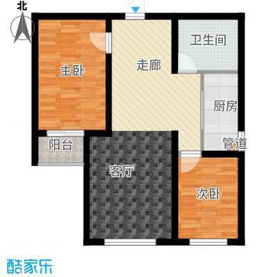 百合世嘉14号楼-3B锦绣前程户型