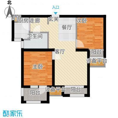 锦绣天地3#B户型