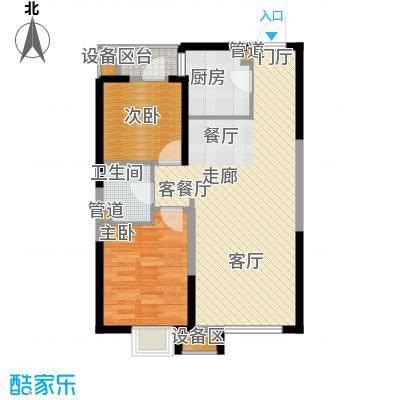 抚顺万达广场10#楼C2户型