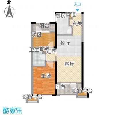 华润海中国六期4、5号楼A户型