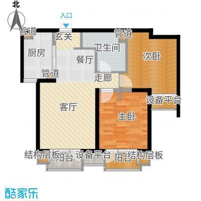 华润海中国五期6号楼F户型