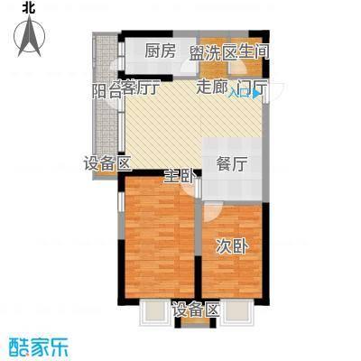 抚顺万达广场10#楼D户型