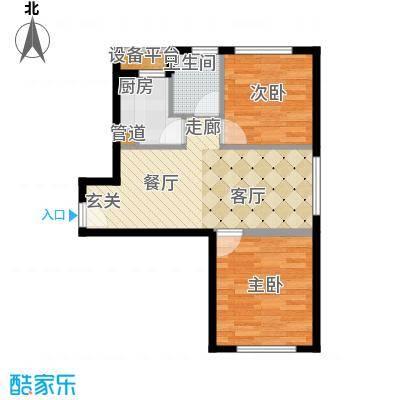 中信海港城B2#楼E户型