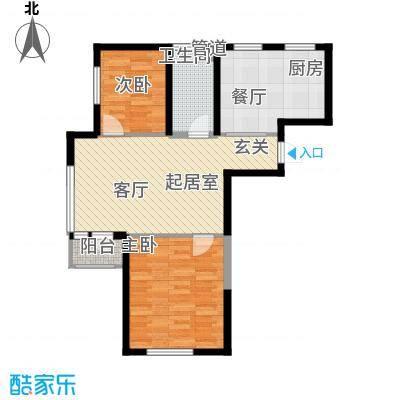 钻石9座8#楼J户型