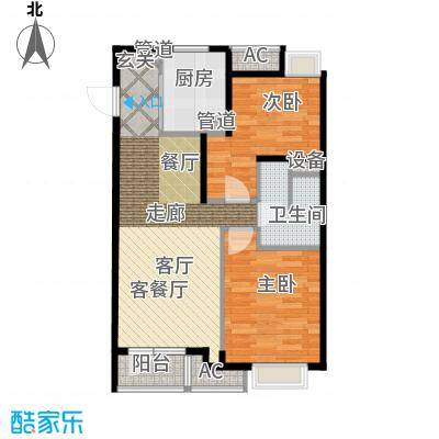 「大连天地」悦丽海湾C01号楼标准层01、08户型