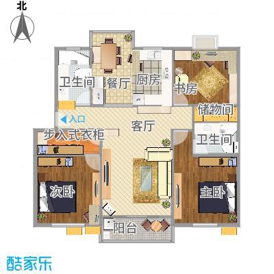 138方三室两厅两卫