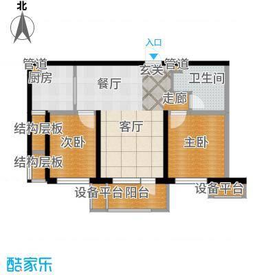 华润海中国7、9、11、14号楼海致户型