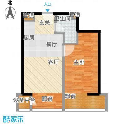 中信海港城B2#楼C户型