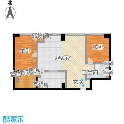 朗豪东港A栋楼6-5户型