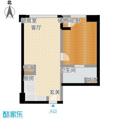 朗豪东港A栋楼6-5(1)户型