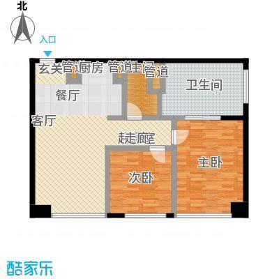 朗豪东港A栋楼6-1户型