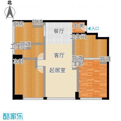 朗豪东港A栋楼6-4户型
