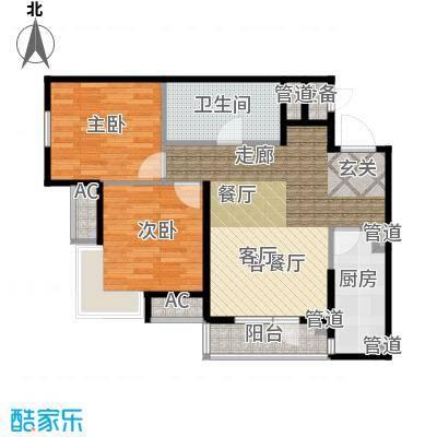 「大连天地」悦丽海湾C01号楼标准层05户型