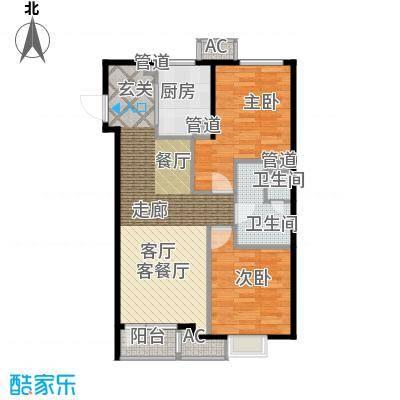 「大连天地」悦丽海湾C01号楼标准层01、04户型