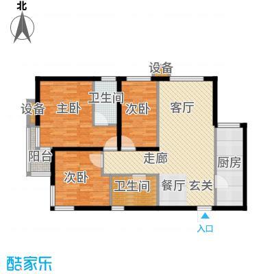 武阳丽园I1、2号楼A户型
