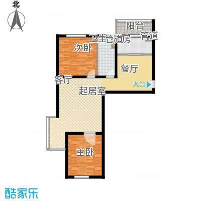 悦澜湾105.16㎡10516户型