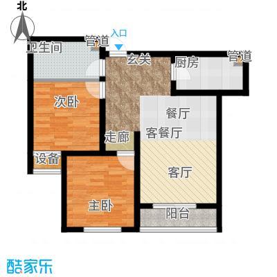 晨光花城B2户型