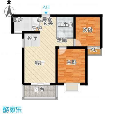 五洲国际官邸四期15#楼M户型