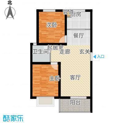 五洲国际官邸三期12-4户型