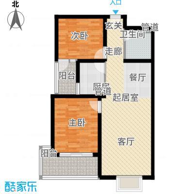 五洲国际官邸(已售完)F2户型