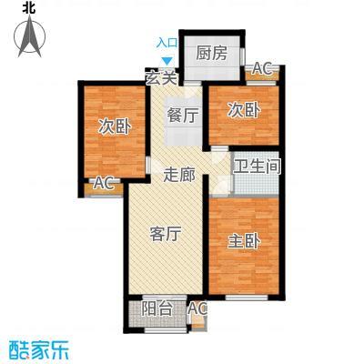 金域蓝湾7#楼E户型