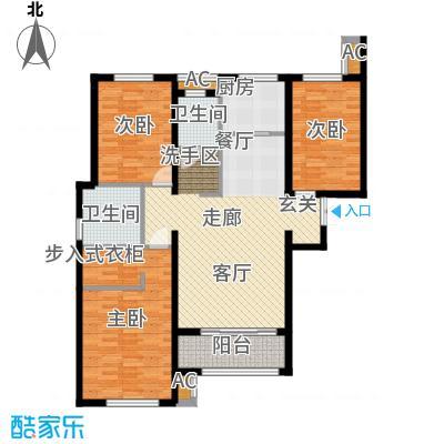 金域蓝湾7#楼D户型