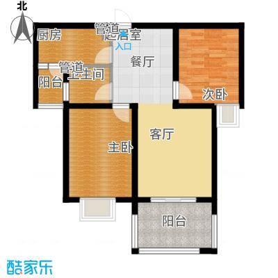 东方太阳城四期22号楼F户型