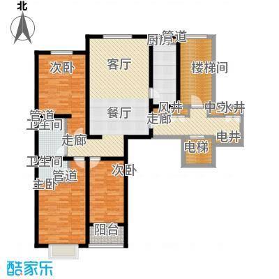 天成嘉园140.17㎡1A2面积14017m户型