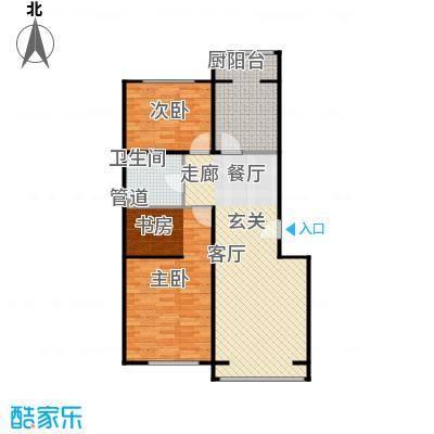 蓝调沙龙雅园98.47㎡D1面积9847m户型
